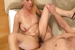 Crazy Grandmom Seduced by her Stepson