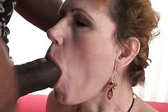 Enormously torrid mature romp rock-hard