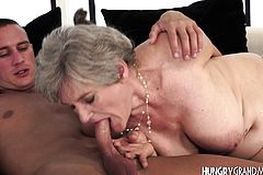 Gray grandmother tongues Trunk