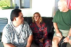 Mature Blondes smashed While Her Cheating stud Sees