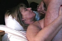 Mature Blowjob Facial