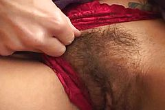 Cougar gets pulverized and Her furry snatch Spunked