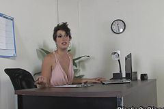 A mature Office assistant in Need Of delectation Gets super-naughty with one Of her Customers