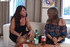Super-naughty grannis Have a all girl Episode with Lovemaking Fucktoys