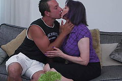 Cuni and warm sex With busty Mom And pervert son