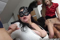 Mature duo Penetrates 2 Naughty youthful swingers rigid As Smash