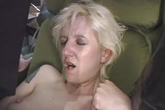 Super hot Romp Leaves trampy Mature with a Sloppy facial cumshot