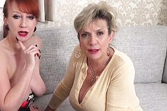 Lady Sonia and Red XXX Love watching you wank