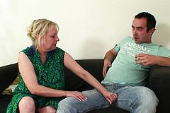 Horny Wifes Old Mom seduces Him
