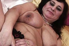 Gigantic Boobed Mature Mumsy toying W Cherryl From 1fuckdatecom