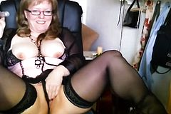 German cougar Masturbation Loan from 1fuckdatecom
