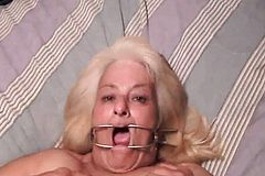 Brit Homemade Granny BDSM