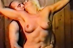 BDSM deep Fisting For blond mature