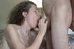 Mature Amateur Slut handjob