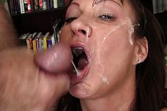 Mature Tart Is Gangbanged by Five Horny Guys