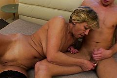 Horny Old lady Wants His hard meat
