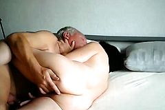 Insatiable Mature Wife Enjoying a Sex toy And a Hard Cock